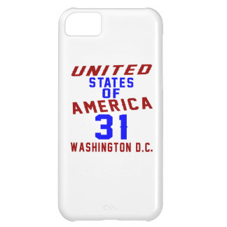 United States Of America 31 Washington D.C. Cover For iPhone 5C