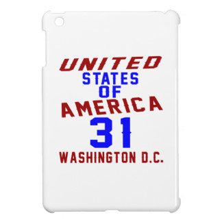 United States Of America 31 Washington D.C. Cover For The iPad Mini