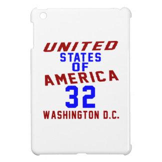 United States Of America 32 Washington D.C. Cover For The iPad Mini