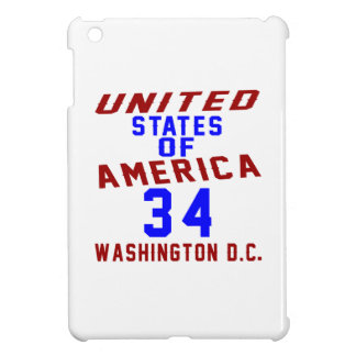 United States Of America 34 Washington D.C. iPad Mini Covers