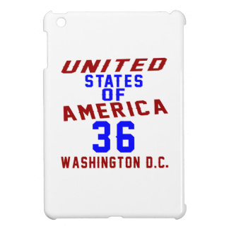 United States Of America 36 Washington D.C. Cover For The iPad Mini