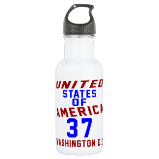United States Of America 37 Washington D.C. 532 Ml Water Bottle