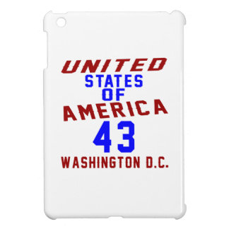 United States Of America 43 Washington D.C. Cover For The iPad Mini