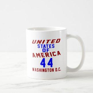 United States Of America 44 Washington D.C. Coffee Mug