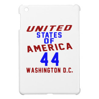United States Of America 44 Washington D.C. iPad Mini Cover