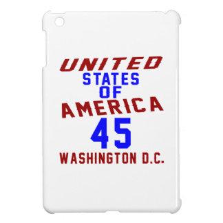 United States Of America 45 Washington D.C. iPad Mini Cover