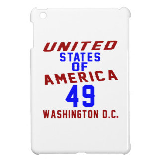 United States Of America 49 Washington D.C. iPad Mini Cases