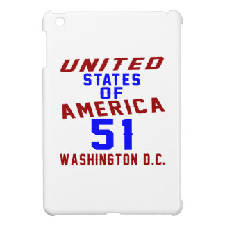 United States Of America 51 Washington D.C. iPad Mini Cover