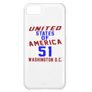 United States Of America 51 Washington D.C. iPhone 5C Case