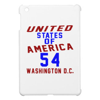 United States Of America 54 Washington D.C. Cover For The iPad Mini