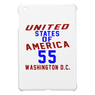 United States Of America 55 Washington D.C. iPad Mini Cover