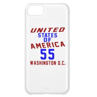 United States Of America 55 Washington D.C. iPhone 5C Cover