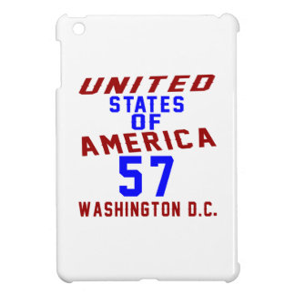 United States Of America 57 Washington D.C. iPad Mini Covers