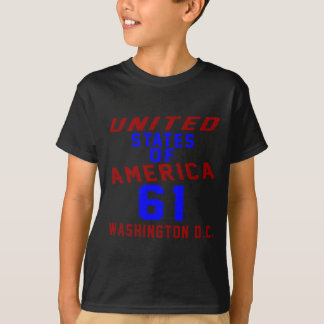 United States Of America 61 Washington D.C. T-Shirt