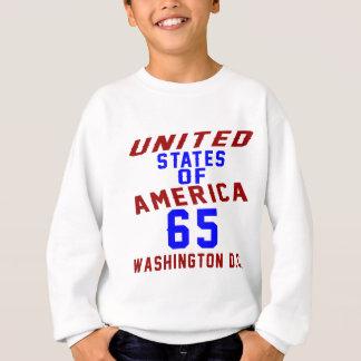 United States Of America 65 Washington D.C. Sweatshirt