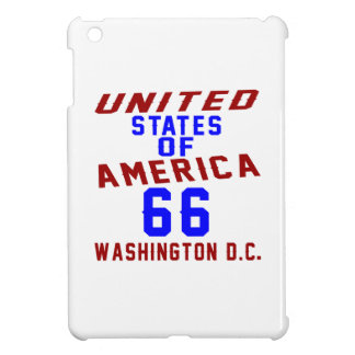 United States Of America 66 Washington D.C. iPad Mini Cover