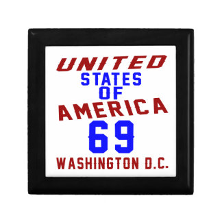 United States Of America 69 Washington D.C. Gift Box