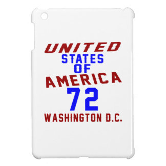 United States Of America 72 Washington D.C. iPad Mini Covers