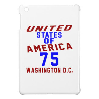 United States Of America 75 Washington D.C. Cover For The iPad Mini