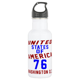 United States Of America 76 Washington D.C. 532 Ml Water Bottle