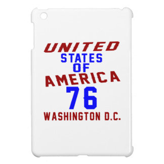 United States Of America 76 Washington D.C. iPad Mini Cover