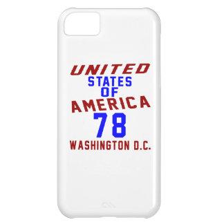 United States Of America 78 Washington D.C. iPhone 5C Cases