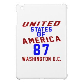 United States Of America 87 Washington D.C. Cover For The iPad Mini