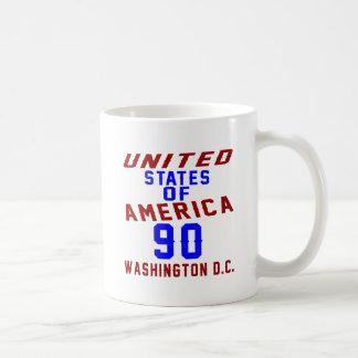 United States Of America 90 Washington D.C. Coffee Mug