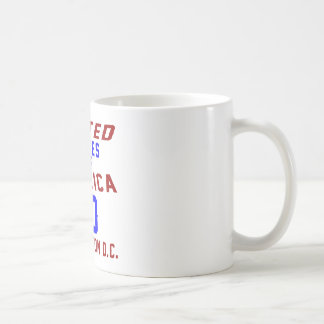 United States Of America 90 Washington D.C. Coffee Mug