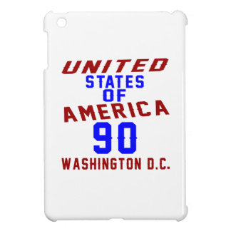 United States Of America 90 Washington D.C. iPad Mini Case