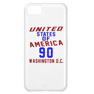 United States Of America 90 Washington D.C. iPhone 5C Case