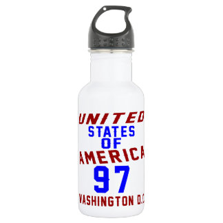 United States Of America 97 Washington D.C. 532 Ml Water Bottle
