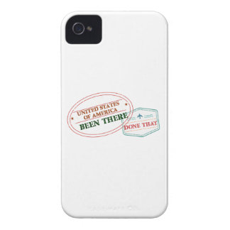 United States of America Been There Done That iPhone 4 Cases