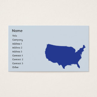 United States of  America - Business Business Card