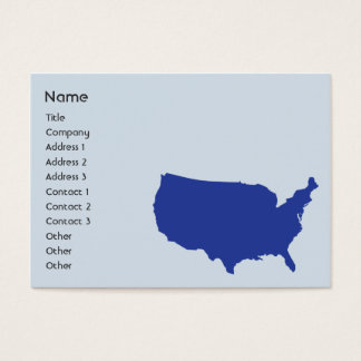 United States of America - Chubby Business Card
