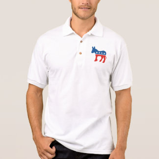 united states of america democrat party donkey usa polo shirt