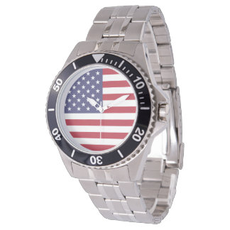 United States of America Flag 2 Watch
