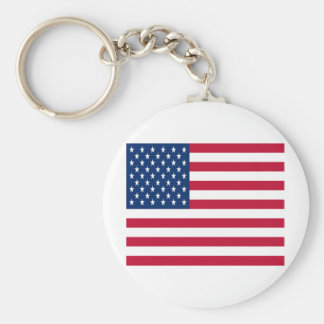 United States of America Flag Keychain