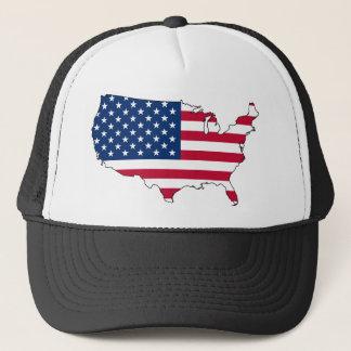 United States of America Flag Trucker Hat