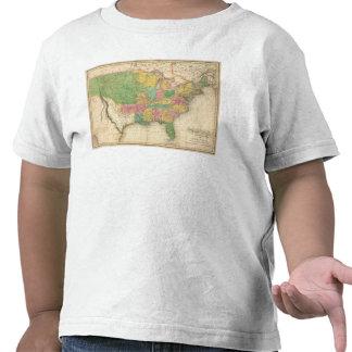 United States of America History Map Shirts