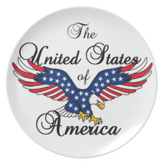United States of America Plate