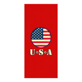 United States of America Rack Card