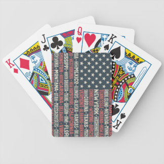 United States Of America |States & Capitals Poker Deck