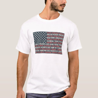 United States Of America | States & Capitals T-Shirt
