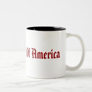 United States Of America Two-Tone Coffee Mug