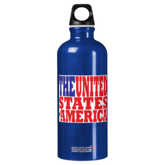 UNITED STATES OF AMERICA WATER BOTTLE