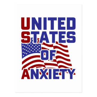 United States of Anxiety Postcard
