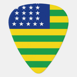 United States of Brazil flag Guitar Pick