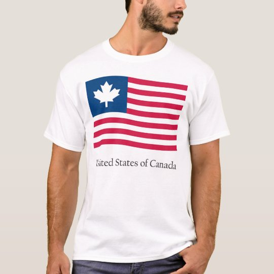 United States of Canada T-Shirt