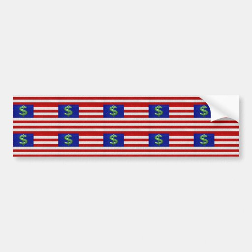 United States of Money Bumper Stickers
